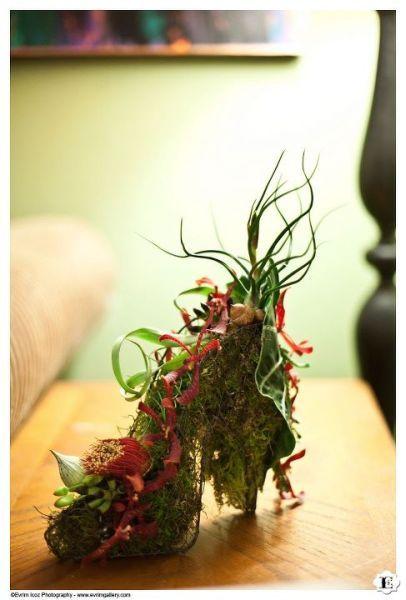 Amazing and Beautiful. Botanical Slippers by Francoise Weeks. Photography Evrim Icoz.