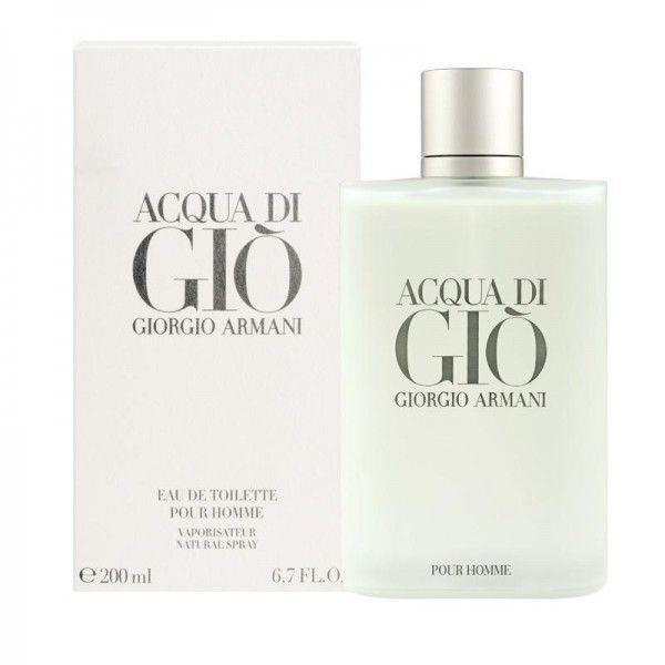 Το Acqua di Gio από τον Giorgio Armani είναι ένα υδάτινο αρωματικό άρωμα για άνδρες. Αποκτήστε το eau de toilette 200ml με έκπτωση, από 135,00€ μόνο με 81,50€ #aromania #ArmaniPerfume #AcquaDiGio