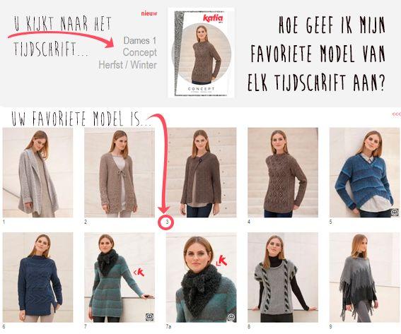 Vertel ons wat je favoriete modellen zijn en maak een kans om onze 10 nieuwe tijdschriften Herfst – Winter 15/16 te winnen !