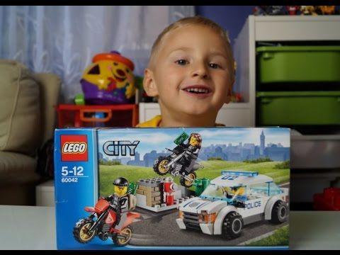 LEGO CITY High Speed Police Chase 60042. Blue Orange