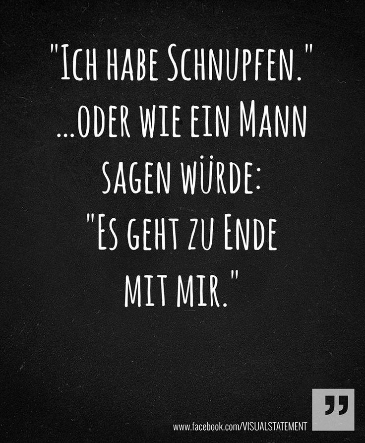 #Schnupfen #krank #Männer