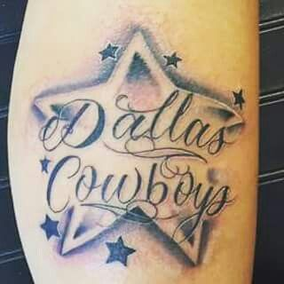 25 best ideas about dallas cowboys tattoo on pinterest for Dallas cowboys star temporary tattoos