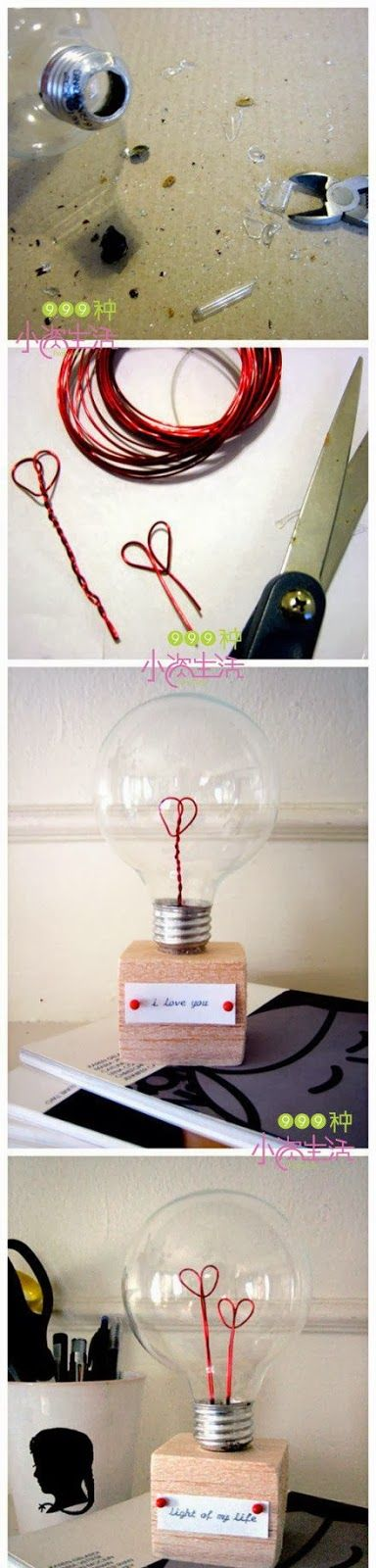 DIY : Light Bulb of Love | DIY & Crafts Tutorials