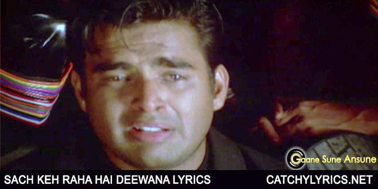 Sach Keh Raha Hai Deewana Lyrics - KK (With images