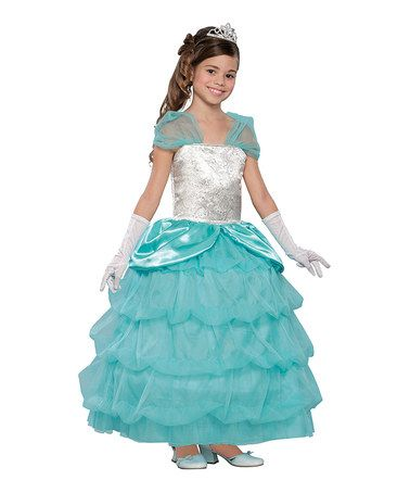 Look what I found on #zulily! Blue & Silver Southern Belle Dress-Up Set - Girls #zulilyfinds