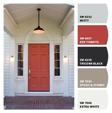 about colors for exterior doors shutters on pinterest paint colors. Black Bedroom Furniture Sets. Home Design Ideas