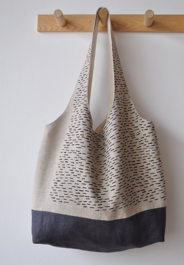 I have this bag. It is so well made.. the fabrics are well chosen and comfortable to the touch. It is a joy to use.  Bookhou makes beautiful works of functional art.