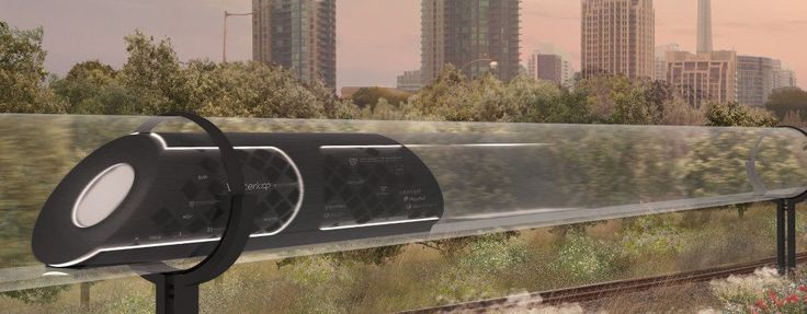 The GOOSE I pod, backed in part by crowdfunding efforts, is the team's half-scale, functional prototype vehicle pod.
