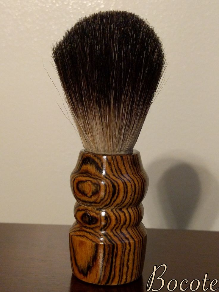 Badger Hair Shave Brush. Custom orders available on our Etsy page!