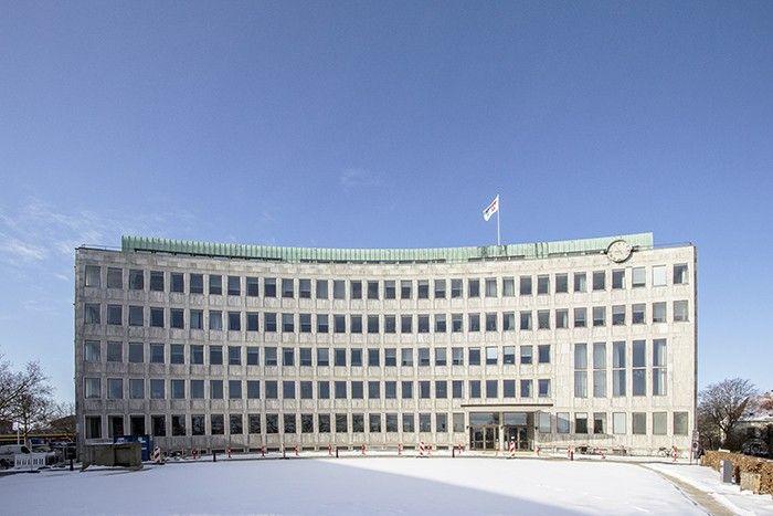 Arkitekturbilleder.dk - Bygningsværk - Lyngby Rådhus