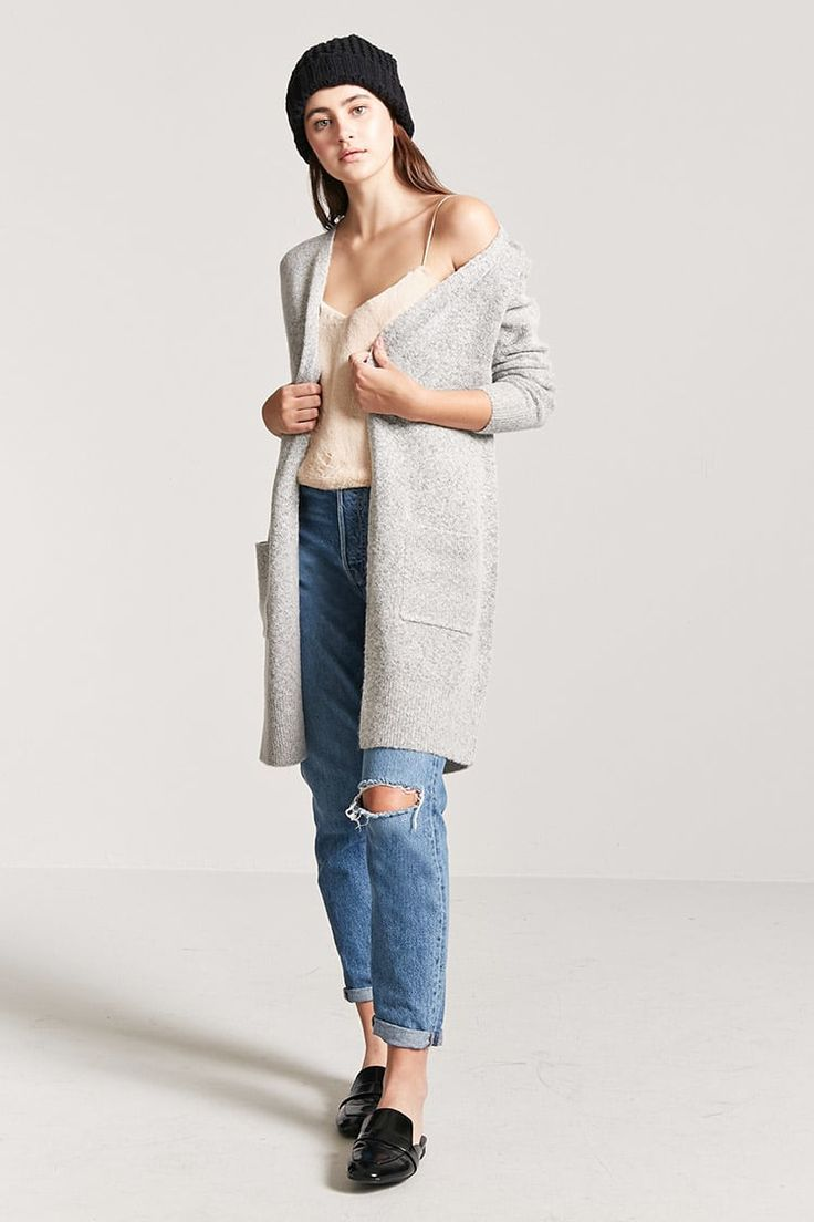 Product Name:Open-Front Longline Cardigan, Category:sweater, Price:22.9