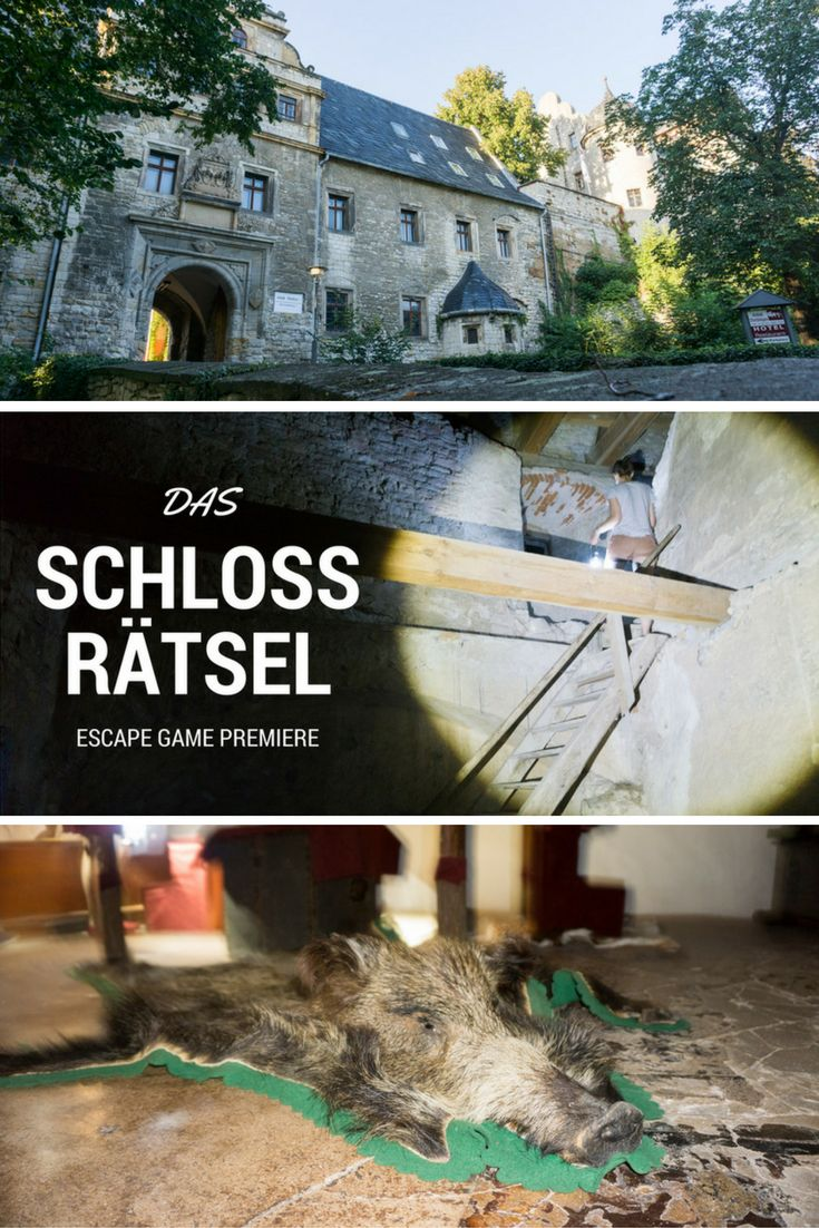 Germanys first escape game in a castle! Escape Room Weimar in Schloss Beichlingen