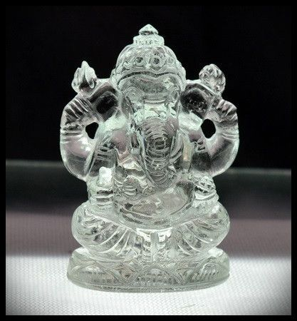 Blue Topaz (Nigeria) Ganesha 3D Carving 167.50 carats 45mm
