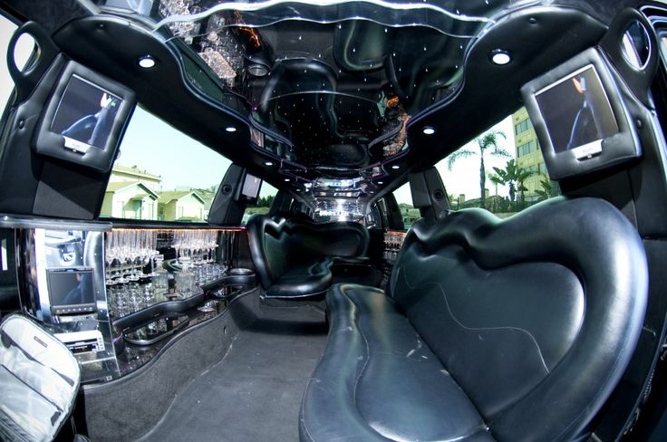 Inside the biggest limo in the world