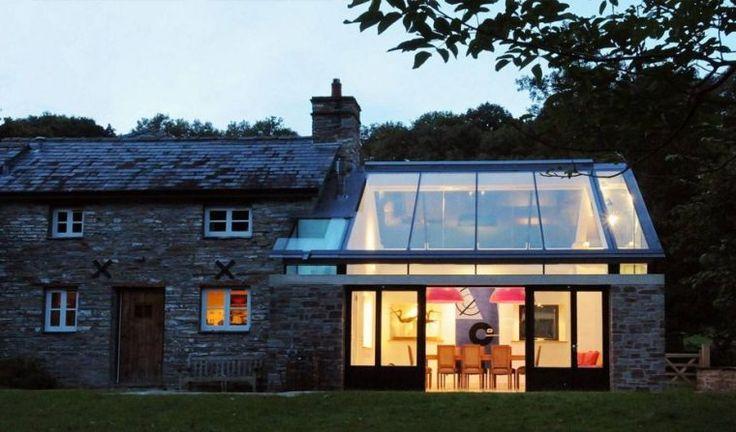 idée d'agrandissementde maison et extension moderne