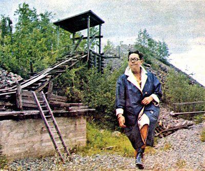 "Maria Lange in Pershyttan summer 1969. From fabulous swedish blog Kuriosapaviljongen, ""Pavilion of curiosity"""