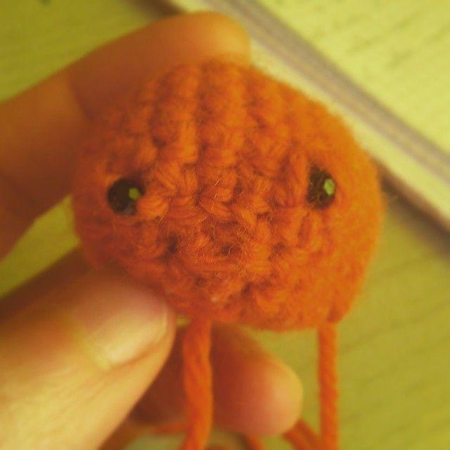 crochet experiment little fish