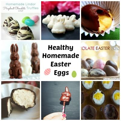 Healthy Homemade Easter Eggs - Natural New Age Mum