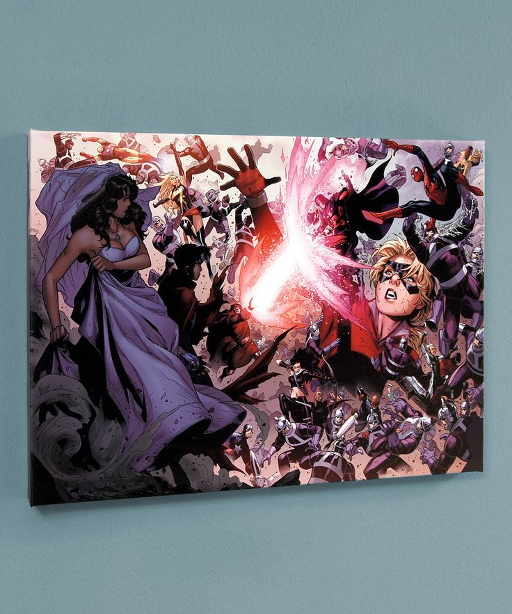 Avengers: The Children's Crusade #4 Fight Giclée Canvas