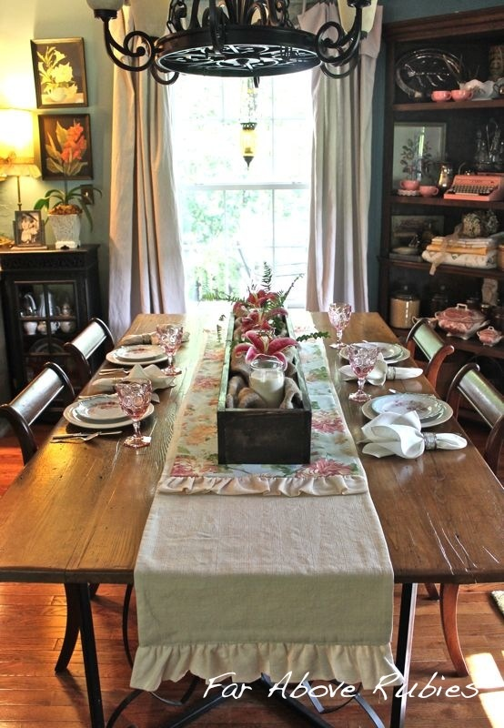 Far Above Rubies: Stargazer lilies and vintage china