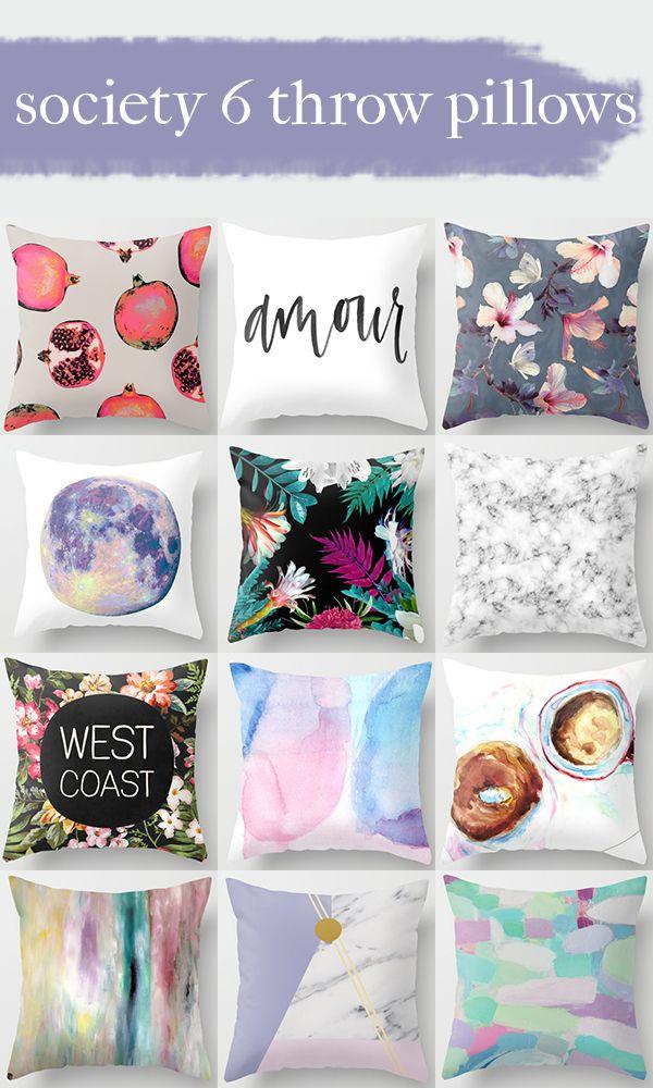 Society 6 Throw Pillows Home Throw Pillows And Home Decor