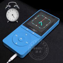 2016 najnovšie Original Ruiz X20 MP3 prehrávač s 1,8 palcovým displejom môžete zahrať 100 hodín, 8 GB s FM, E-Book, hodiny, dáta (Čína (pevninská časť))