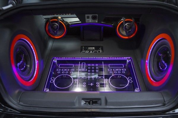 Scion Speaker System Boombox Ghetto Blaster Plexiglass
