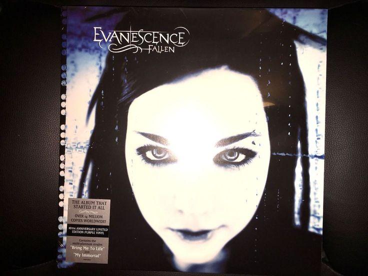 Evanescence Fallen LP 10th Anniversary Limited of 1500 ... Evanescence Album Cover 2013