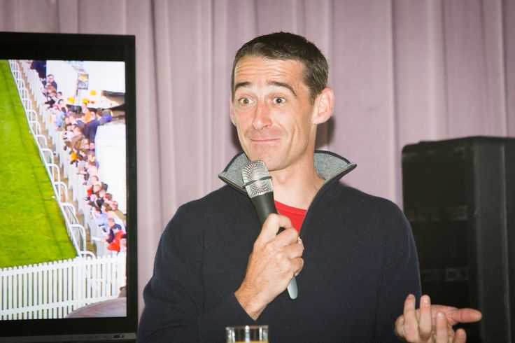 Champion Irish Jockey, Davy Russell hosting the Tipster Breakfast at the g Hotel & Spa for the Galway Races 2014 www.theghotel.ie