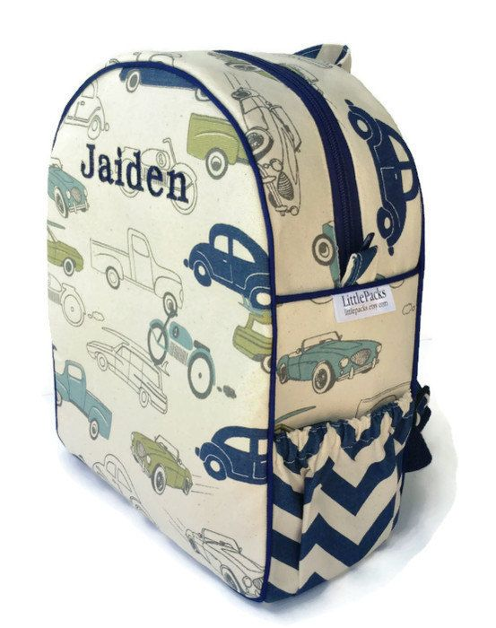 One of COOL MOM PICKS Best Preschool Backpacks 2013, Toddler Backpack, Boys Backpack, Quilted Backpack, Cars Backpack, Retro Rides Backpack...