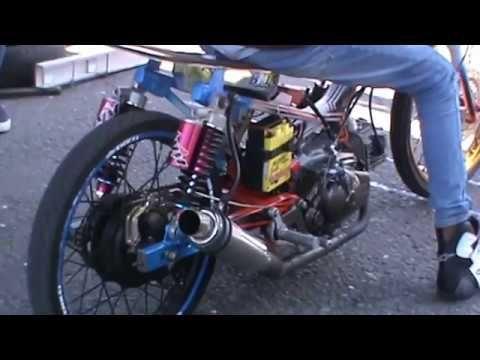 PARAH !!! Mesin KESELEK Jupiter AFID Team BIMA M TECH - Drag Bike Ponorogo