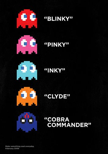 The 5th PAC-MAN Ghost: Cobra Commander