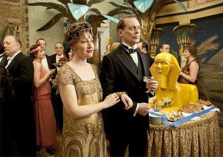 """Aux Etats-Unis, la saison 3 de """"BOARDWALK EMPIRE """" redistribue les cartes. Diffusée en ce moment ( 22 novembre 2012)  sur Orange cinéma séries"""