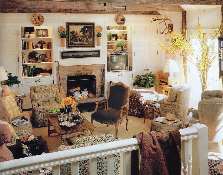 Designer Dan Carithers Atlanta Family Room