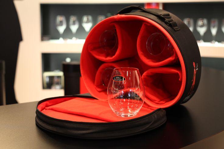 リーデル(RIEDEL) 2014年 新製品 、赤ワインタンブラー4個付 グラスを安全に運べるキャリーバッグ「ビー・ワイ・オー バッグ」※数量限定