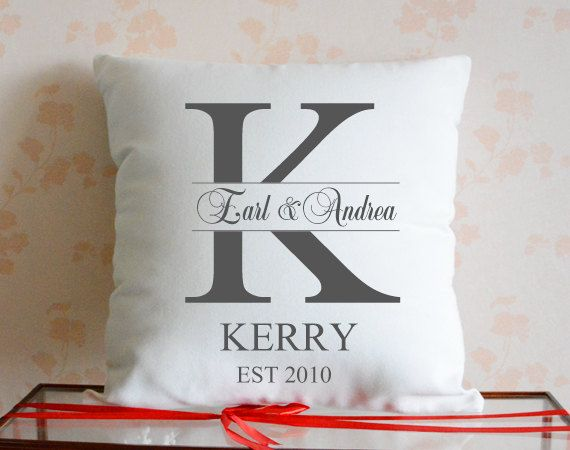 Custom couple pillow coverMr and Mrs cushion by CreativePillow, $18.95