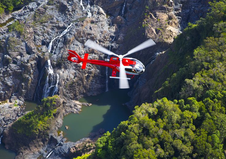 EC130 over the Rainforest