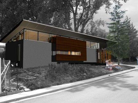 25 best modern mobile homes ideas on pinterest tiny - Mobile home modern design ...