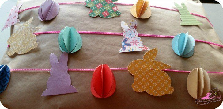 envolver regalo infantil para pascua