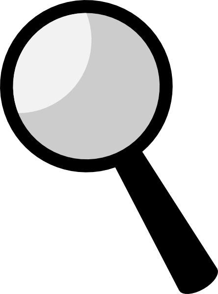 Name In Magnifying Glass Spy Silhouette