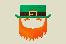 Pin the Beard on the Leprechaun Game