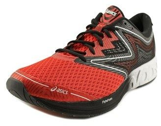 Asics Noosa Ff Men Round Toe Synthetic Red Running Shoe.