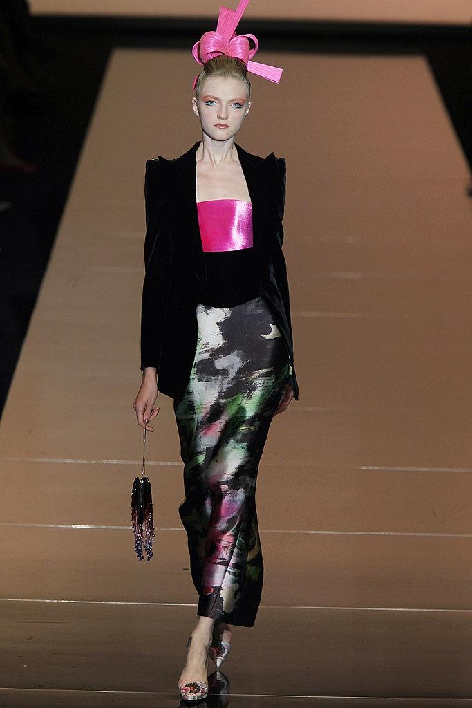 Giorgio Armani Prive Fall 2011 Couture