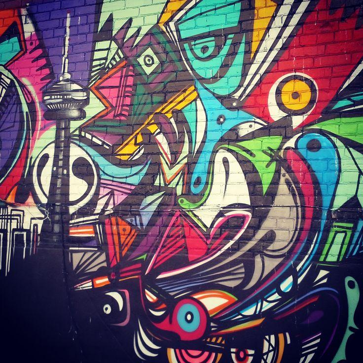 231 College Street Downtown #Toronto! #streetart #art #artmatters #graffitiart #thepurplescarf #melanieps