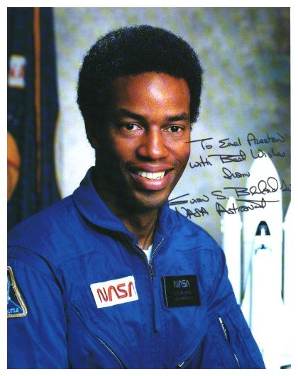 Guion Bluford, first African American in space