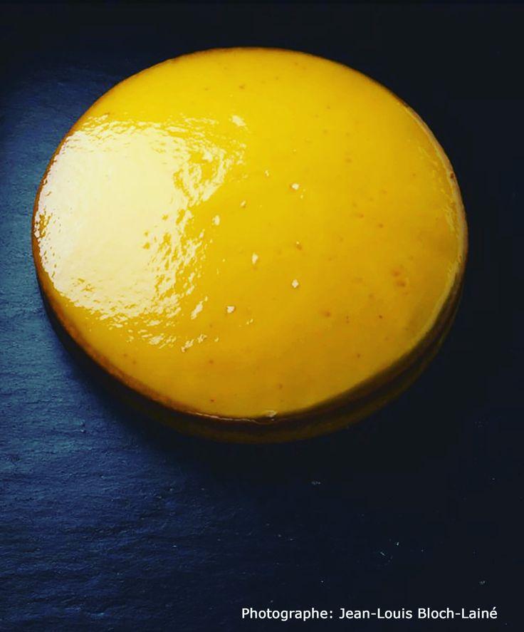 Plaisir gourmand et fruité avec cette tarte à l'orange avec sa crème d'Orange et son confit !!