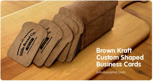Custom Shaped Business Cards that Look and Feel Cool! | JukeBoxPrint.com
