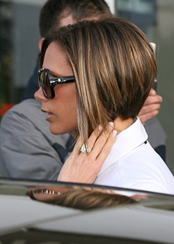 """My favorite haircut ever - every time I see the """"Posh Bob"""" I want to cut my hair off again."""