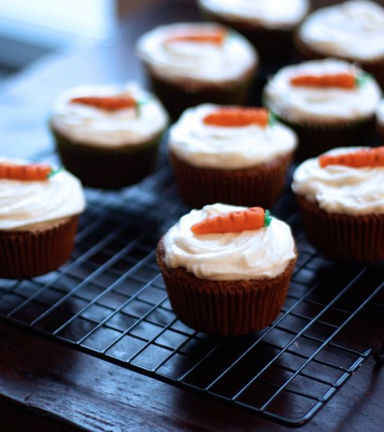 ... SoHo: Carrot Cake Cupcakes with white chocolate cream cheese frosting