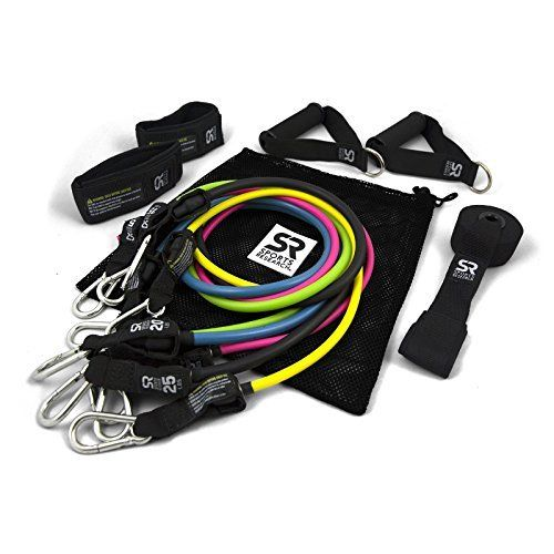 Sweet Sweat Premium Resistance Bands Set  Includes Carrying bag Workout guide and Sweet Sweat Gel Sample * Want to know more, click on the image.